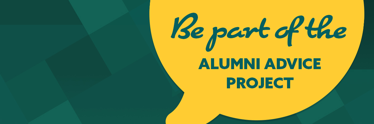 Be part of the alumni advice project