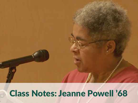 Class Notes: Jeanne Powell '68
